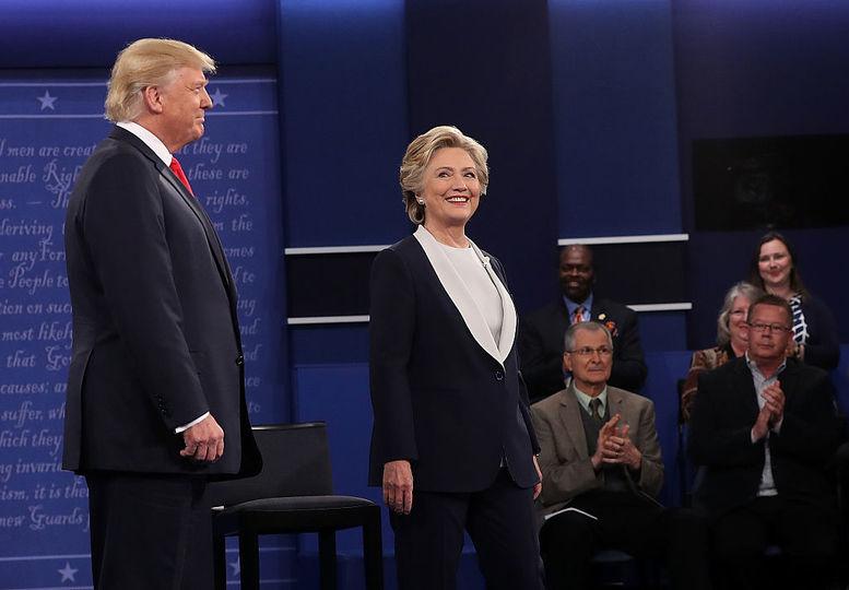 トランプ氏とクリントン氏