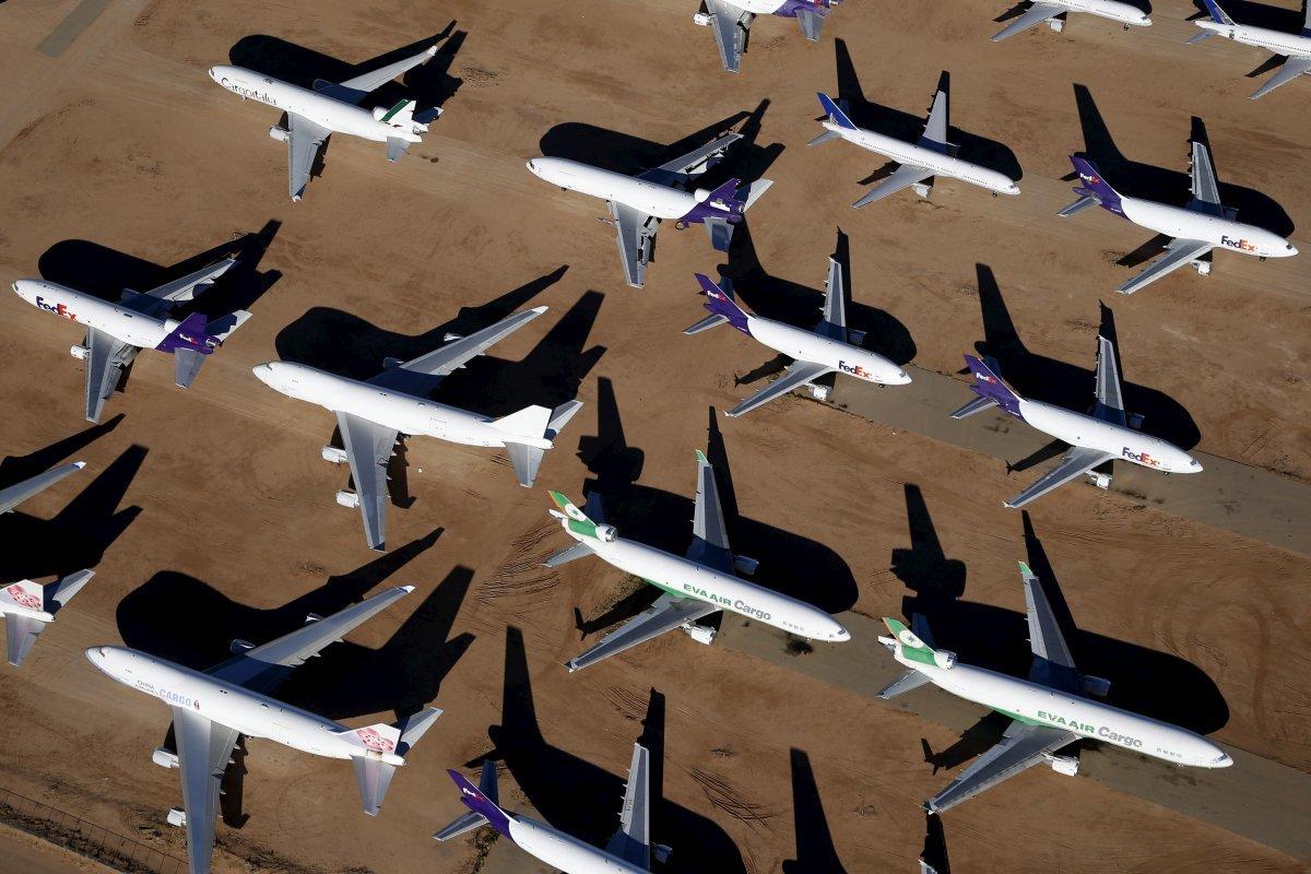 フェデックスの機体