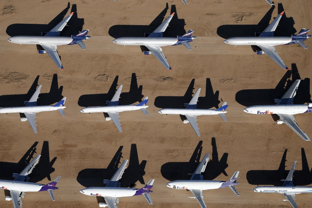 アエロフロート・ロシア航空のMD-11F貨物機など