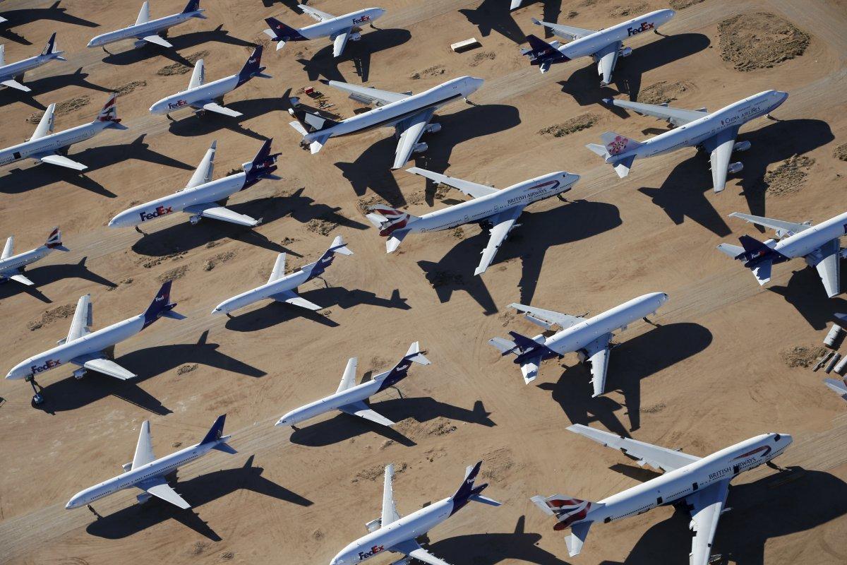 ブリティッシュ・エアウェイズの機体