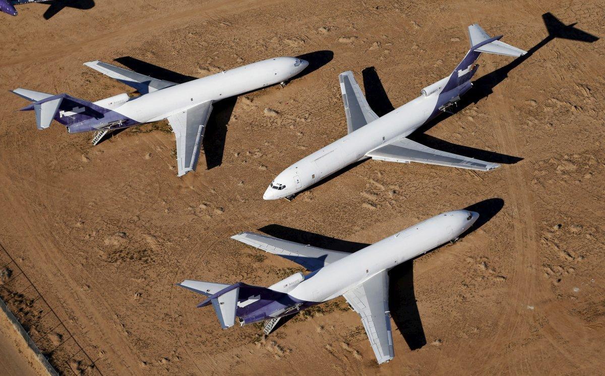 ボーイング727の貨物機