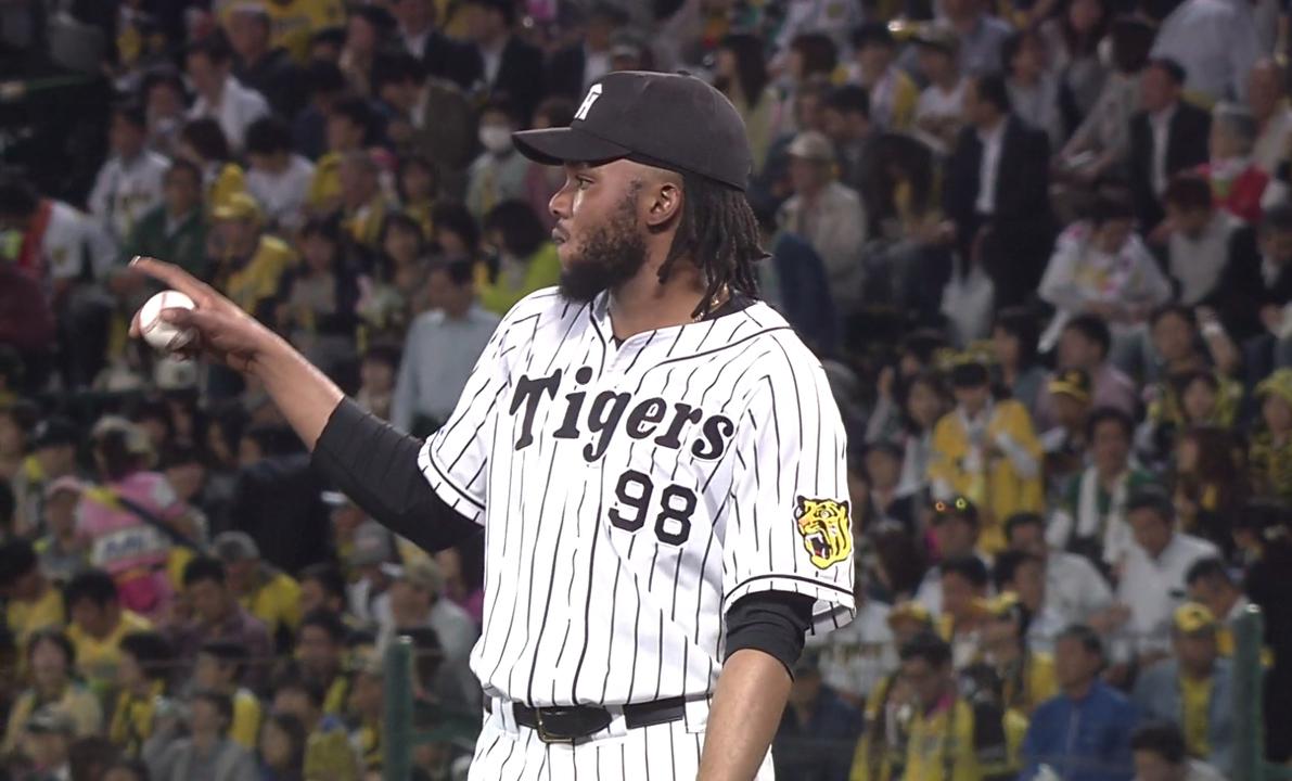 ラファエル・ドリス(阪神タイガース/投手)