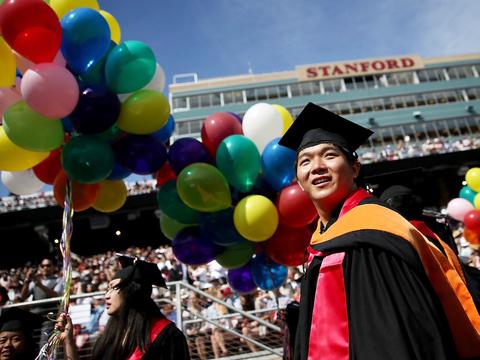 ハーバード、スタンフォード、MIT —— 超お金持ちの出身大学トップ20