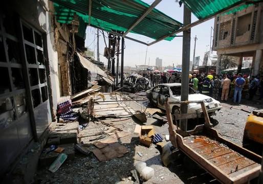 イラクの首都バグダッド周辺でISによる自爆攻撃相次ぐ —— 死者35人、負傷者100人以上