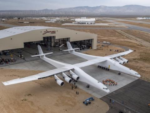 世界最長の翼幅を誇る航空機「Stratolaunch」