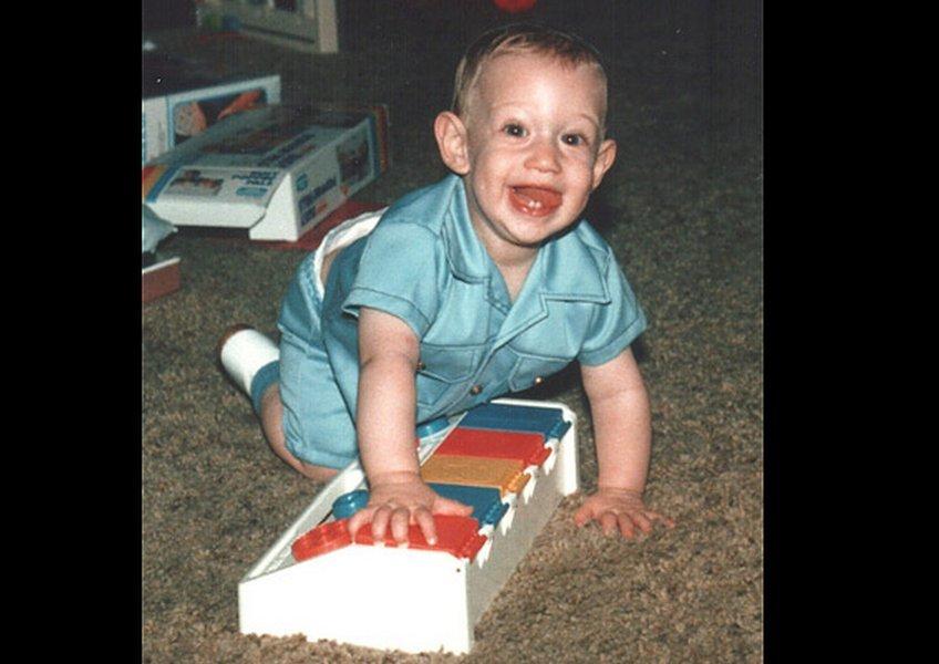 幼少期のマーク・ザッカーバーグ