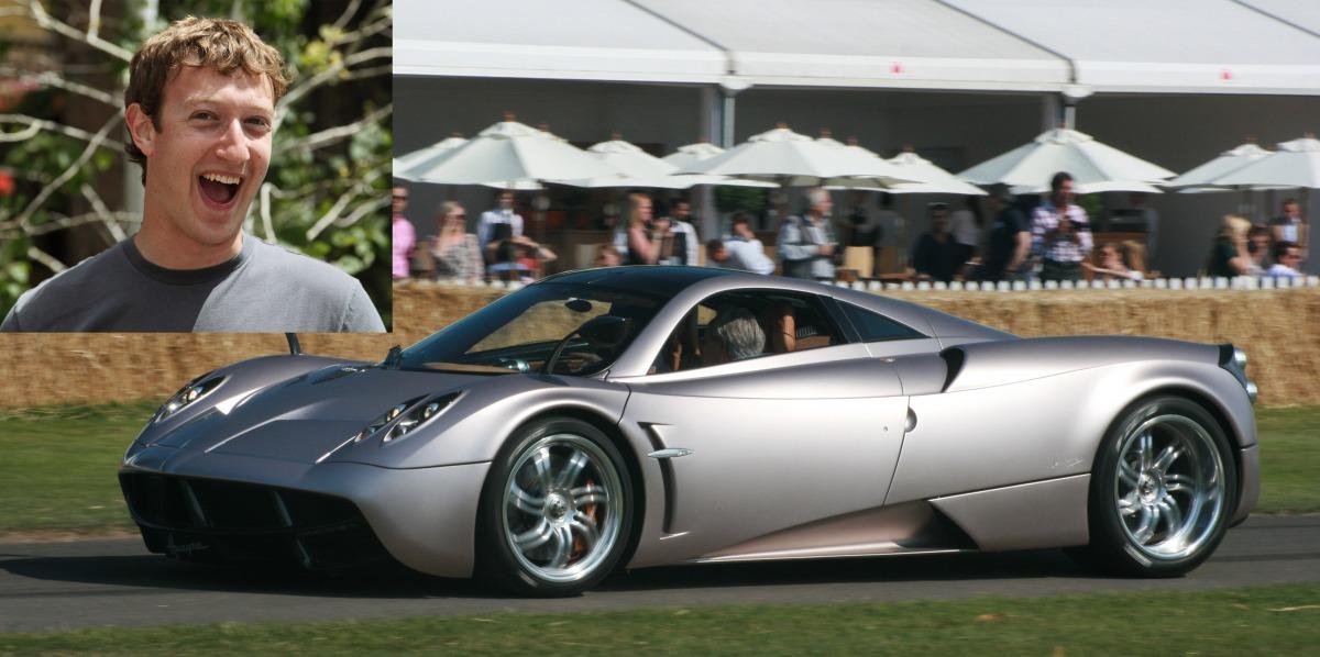 イタリアのスーパーカー、パガーニ・ウアイラ