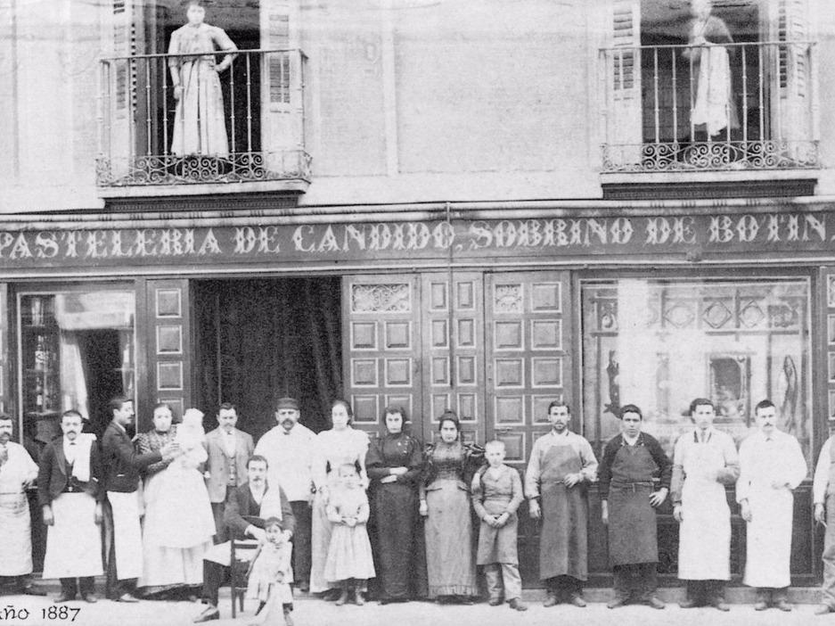 「リストランテ・ソブリノ・デ・ボティン」(Restaurante Sobrino de Botin)