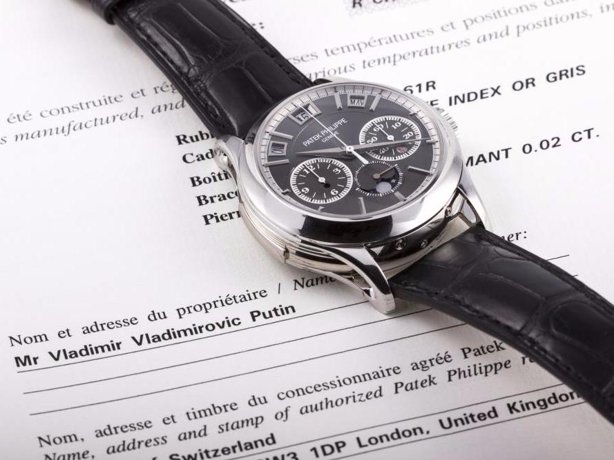 プーチン大統領_腕時計1