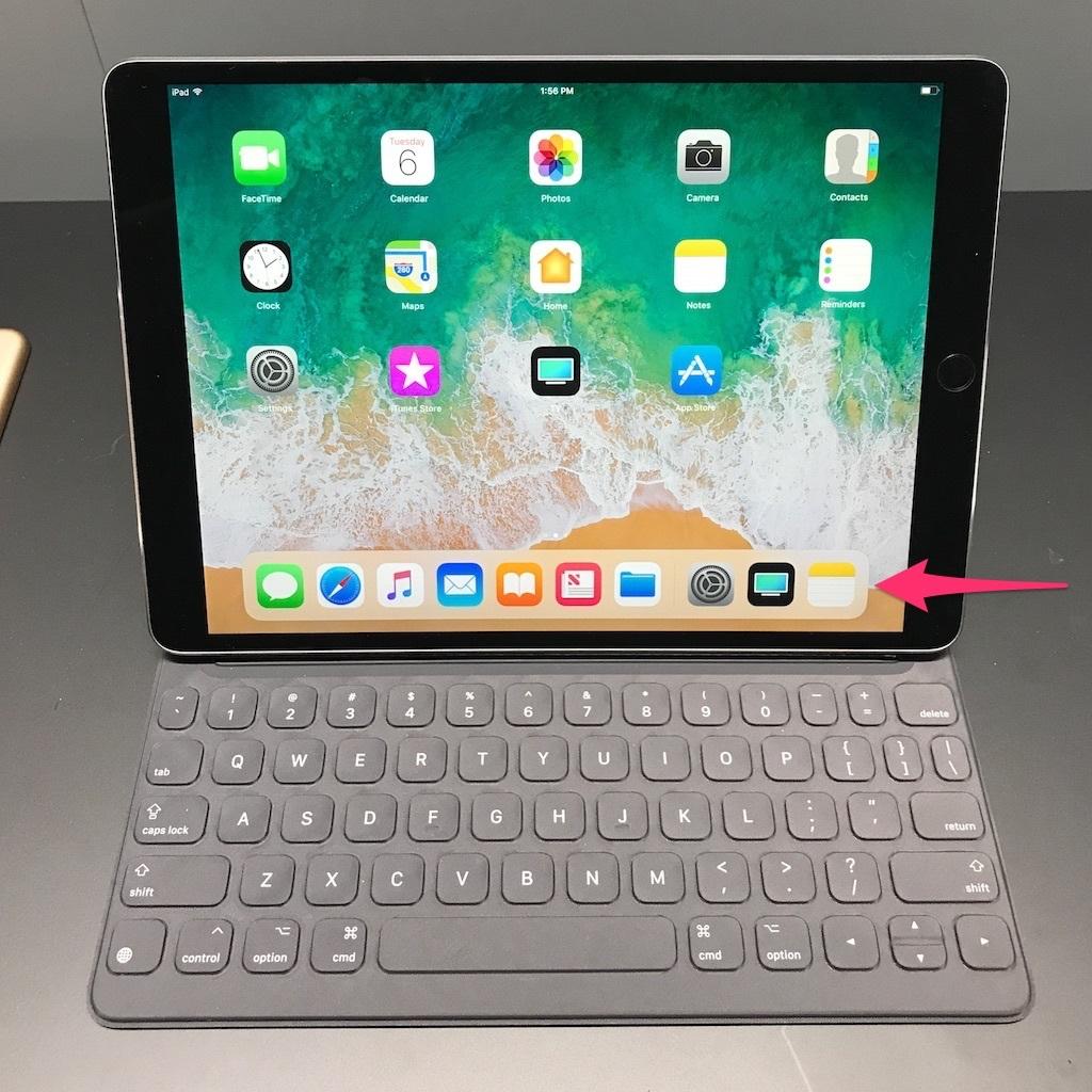 iPad ProのDock