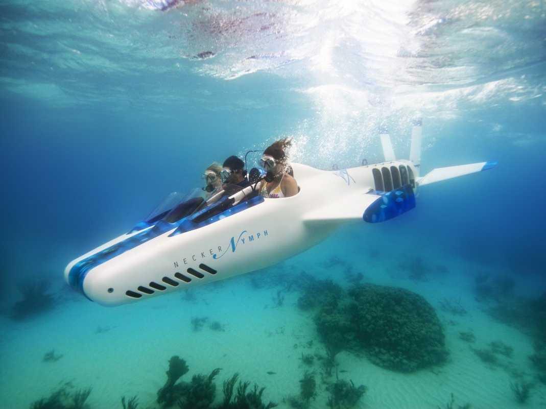 リチャード・ブランソン氏の潜水艦