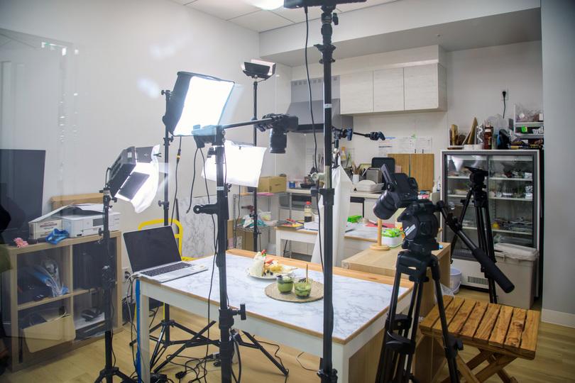 CC HANNELのスタジオ