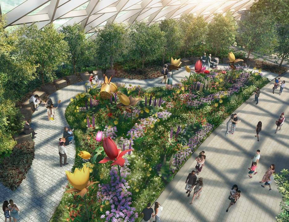 キャノピー・パークの植物園セクションのイメージ
