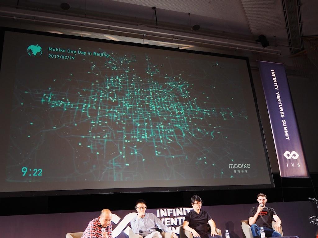 Mobikeの交通量の可視化