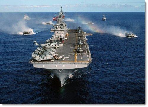「我々の任務は非常に特殊。他の艦船とは違う」強襲揚陸艦キアサージ