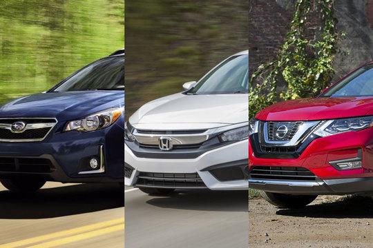 2017年の「10ベストファミリーカー」を選出 —— 日本車は10台中6台