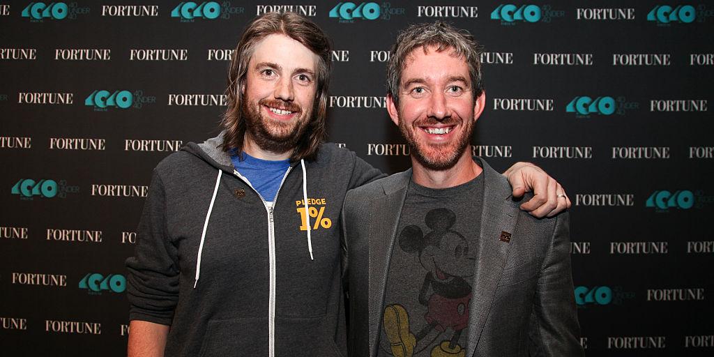 Atlassian共同創業者 マイク・キャノン・ブルックス(Mike Cannon-Brookes)氏とスコット・ファークワー( Scott Farquhar)氏