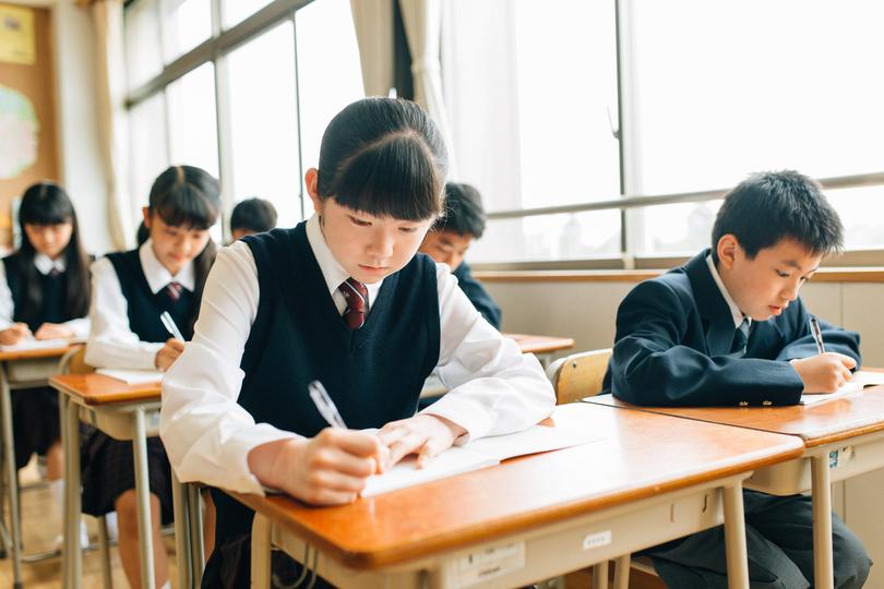 中学校の教室