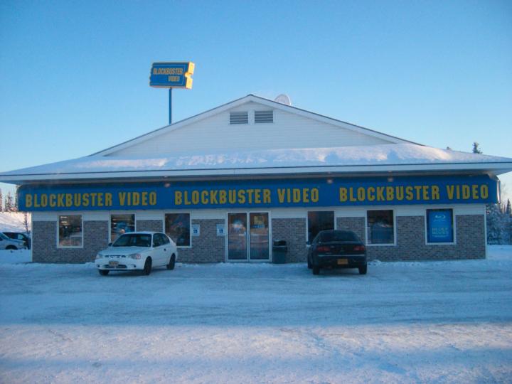 Blockbusterの店舗