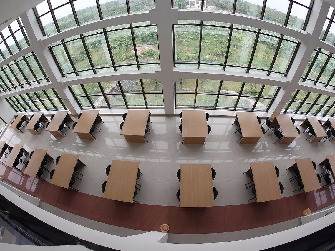 大学の内部