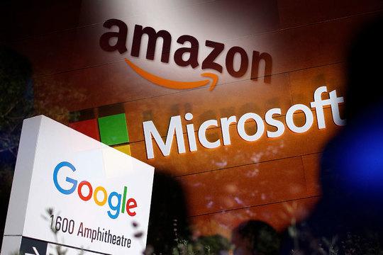 アマゾン、グーグル、マイクロソフト