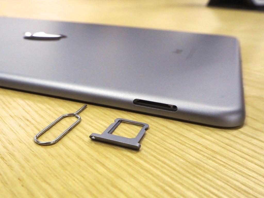 iPad ProのSImスロット