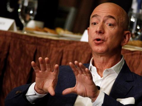 アマゾンCEOのジェフ・ベゾス氏
