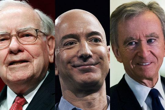 世界初のトリオネア誕生も近い? 世界の人口の下半分と同じ資産を保有する8人の富豪