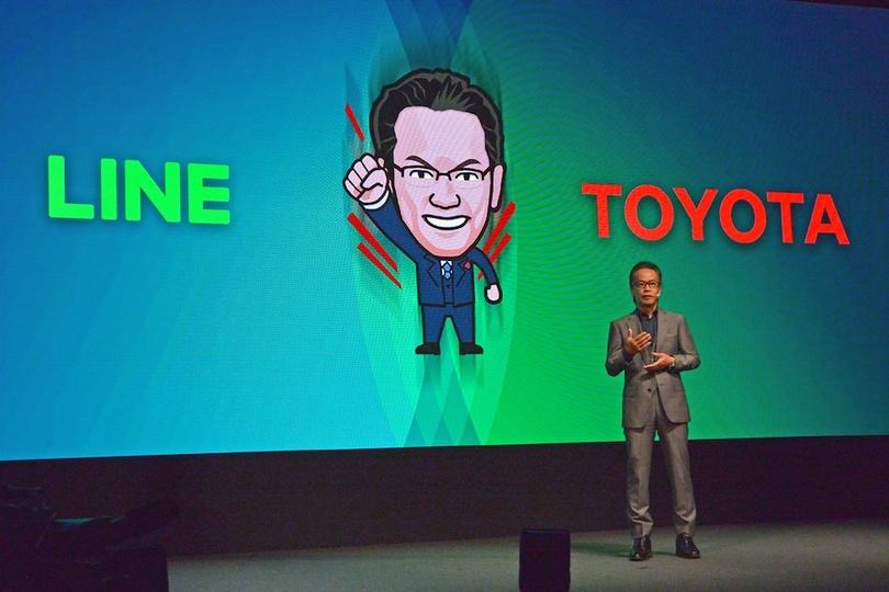 LINE×トヨタ自動車の新たな取り組み