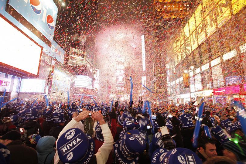 新年を迎えたニューヨーク