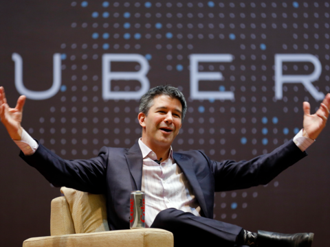 Uber CEO トラビス・カラニック氏