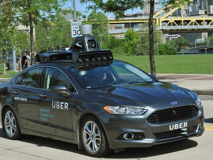 Uberの車体