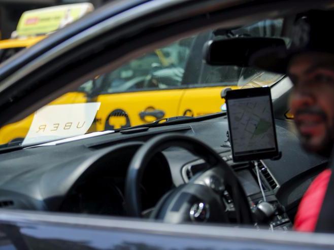 Uber車