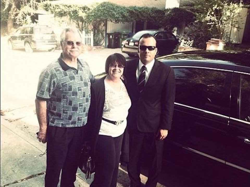 カラニック氏の両親