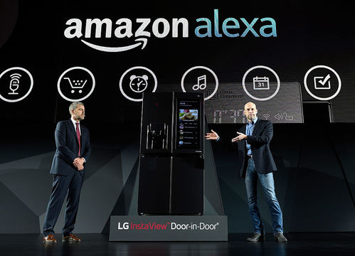 CES 2017での「Amazon Alexa」プレゼンテーションの様子