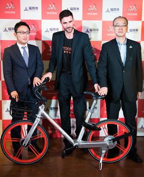 [詳報]中国シェア自転車モバイクが福岡市と連携しサービス開始へ