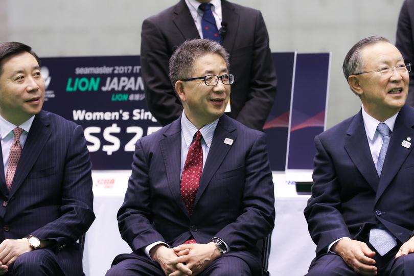 日本卓球協会の前原氏