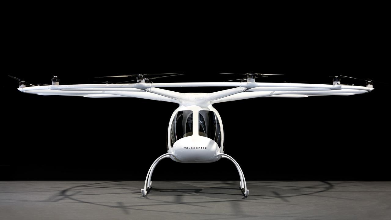 空飛ぶタクシー_Volocopter の機体