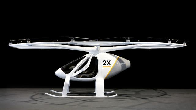 空飛ぶタクシー_Volocopter