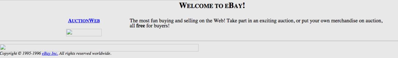 eBay、1995年