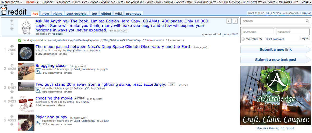 Reddit、現在