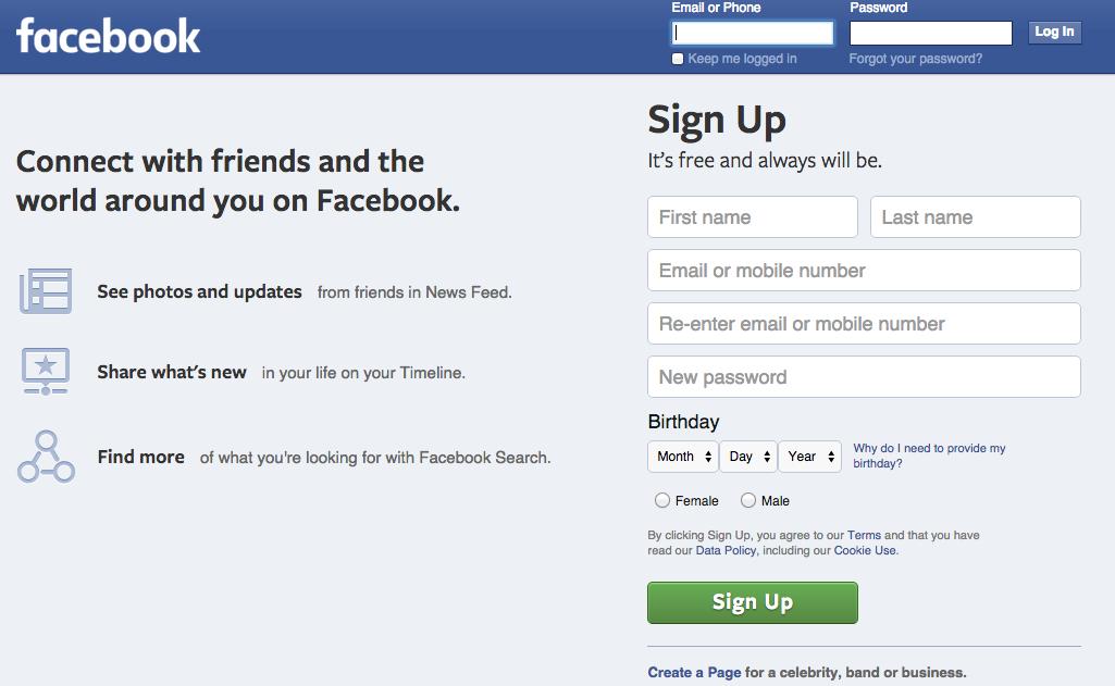 Facebook、現在