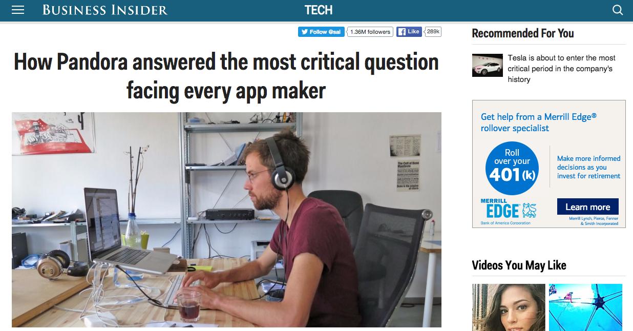 Business Insider、現在