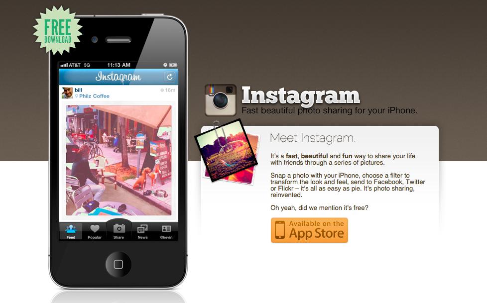Instagram、2011年