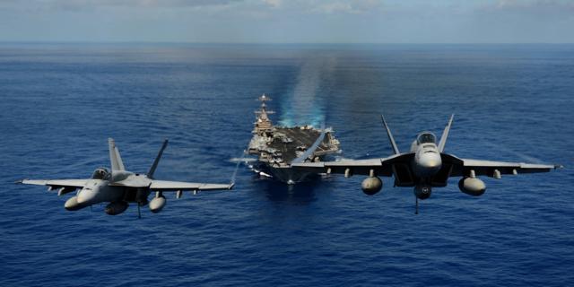 空母、ミサイル巡洋艦、F-22、F/A-18、F-16......シリアに展開している戦力をチェック