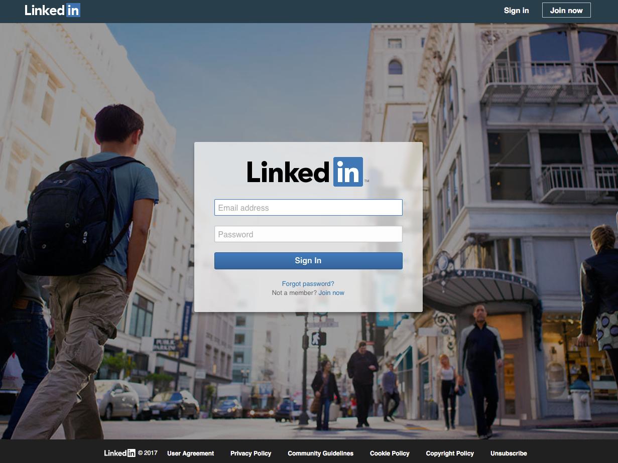 LinkedIn、現在
