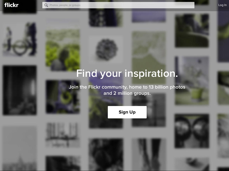 Flickr、現在