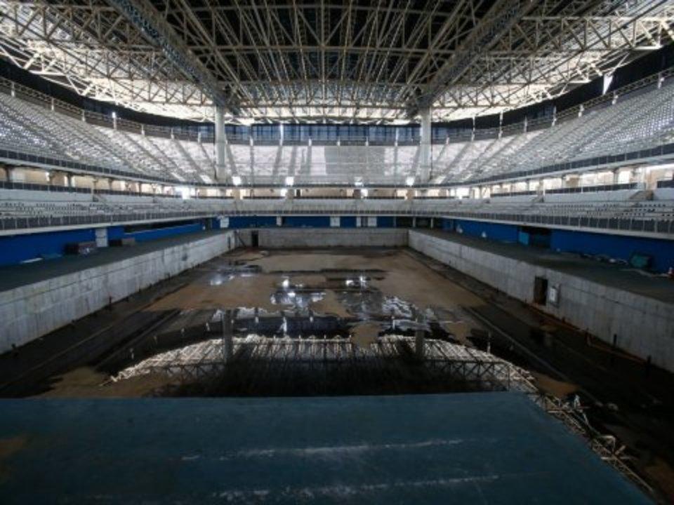 リオのプールの写真