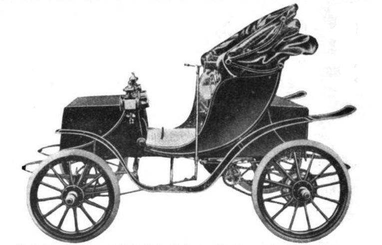 1906年ウッズ製EV「ビクトリア女王号」