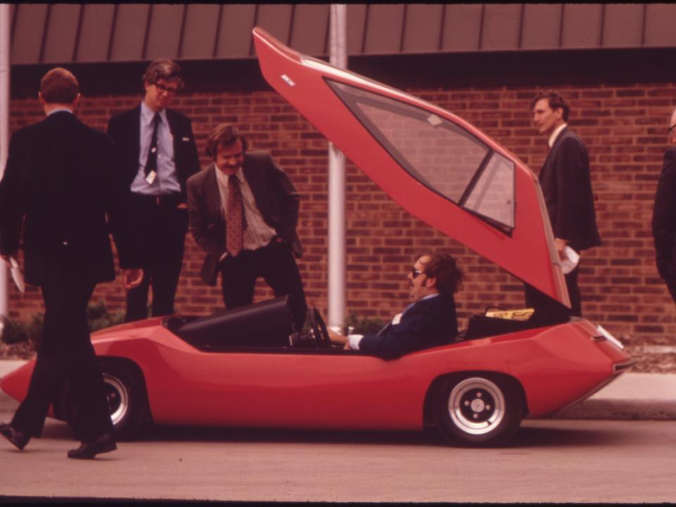 ESBの実験車両「Sundancers」